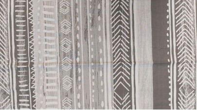 Σεντόνι Lines Γκρι, 100% Βαμβακερός Χασές (Ελληνικής Ραφής)