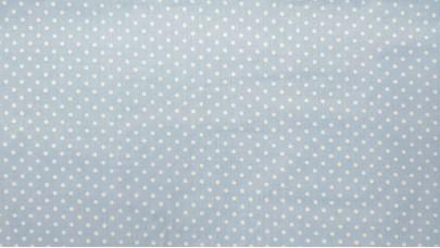 Σεντόνι Πουά Γαλάζιο,100% Βαμβακερός Χασές, Μονό 1,50μ x 240μ (Ελληνικής Ραφής)
