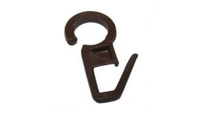 Γατζάκια για ξυλινο κρίκο - καφέ χρώμα (100τεμ)
