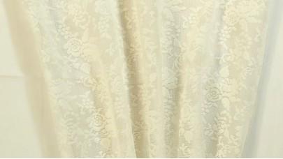 Δαντέλα με μικρό τριαντάφυλλο Εκρού NoTH-60044/02