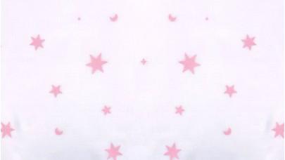 Γάζα με Αστέρια Νο17626/pink Ρόζ