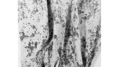Ταφτάς με Μοτίβο - Γκρί-Του Πάγου - No178356/6
