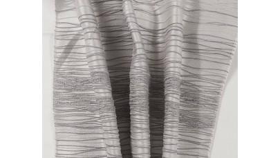 Ταφτάς με Oριζόντια Ρίγα - Γκρί -  NoRIGA/gray