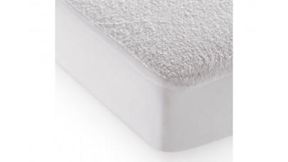 Επίστρωμα Προστασίας Sunshine Πετσετέ με Λάστιχο 100x200+30 (Λευκό)