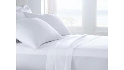 Σεντόνι ξενοδοχείου Crystalize Classic Sizes, Περκάλι, 180TC (Λευκό)