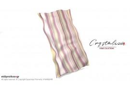 Σκέπασμα ξαπλώστρας θαλάσσης, από Καραβόπανο/Νυματοβαφή Ριγε Λιλά - Crystalize Home Collections