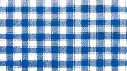 Χασές Καρό Μπλέ-Άσπρο 2cmX2cm (1,40m Φάρδος)