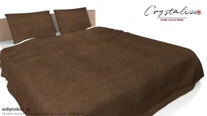 Κάλυμμα/Ριχτάρι Κρεβατιού με ή χωρίς Μαξιλαροθήκες 240x 250 - Velvet Line