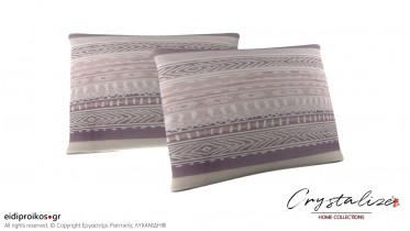 Μαξιλαροθήκη Ύπνου Lila Somon 50x70 - Crystalize Home Collections