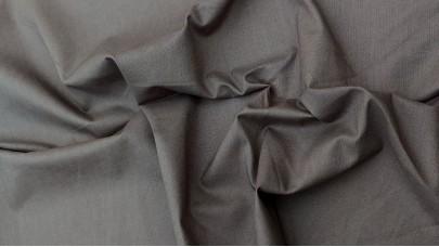 Σεντόνι με Λάστιχο Σκούρο Γκρί, 100% Βαμβακερός Χασές (Ελληνικής Ραφής)